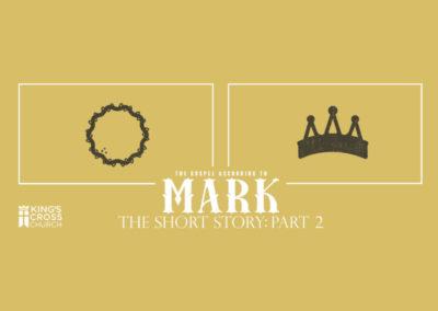 Mark: Part 2